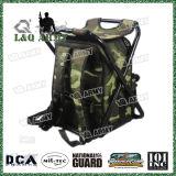 Heißer verkaufentarnung-Fischen-Rucksack mit Falz-Stuhl, Camo Muster-Fischerei-Gerät-Beutel