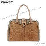 PU der klassischen Dame Handtasche mit grosse Kapazitäts-halb örtlich festgelegte Beutel-gute Rohstoff-ausgezeichnete Kunstfertigkeit-schnellem Lieferfrist-bestem Service