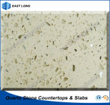 Kunstmatige Stone Quartz Countertops voor Kitchen met SGS Report & Ce Certificate (kleuren Single)