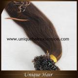 De Braziliaanse Uitbreidingen van uitstekende kwaliteit van het Haar van de Keratine Remy