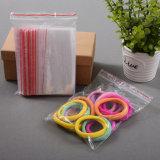 Fermeture à glissière en plastique transparent personnalisée en usine Sac Mini sac ziplock personnalisé