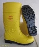 100% virgen Zapato de seguridad de PVC (LT-102-21)