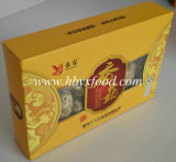 Authentieke Natuurlijke Wilde Droge Paddestoel Shiitake met de Strook van de Kleur van de Thee