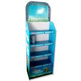 Свободно стоящие стеллажи для выставки товаров с материалом картона, стойкой индикации шампуня