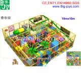 Equipo de interior modificado para requisitos particulares del patio, patio de los niños de interior para la venta (BJ-IP48)