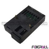 155Mbps vitesse symétrique 1X9 20km Transceiver fibre optique SC