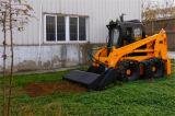 回転式耕うん機が付いている農業機械のスキッドの雄牛のローダーTracktor