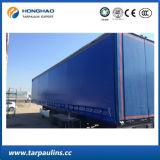 Le PE imperméable à l'eau résistant à l'usure a enduit la bâche de protection/bâche de protection pour la couverture de camion