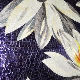Patronen van de Bloemen van het Mozaïek van het Gebrandschilderd glas van het Ontwerp van de Staaf van de eigenschap de Nieuwe