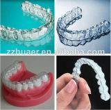 Folha de plástico rígido ou macio Folha de formação de vácuo dental