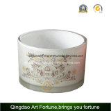 Bougie en céramique de porcelaine pour la décoration à la maison