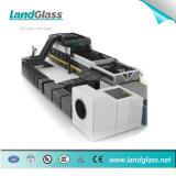 Plano de vidro de Landglass e dobra moderando a máquina