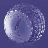 Le golf des trophées, trophée de cristal, boule de cristal, Crystal Balle de Golf