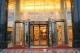 De decoratieve Deuren van het Glas van de Ingang voor Hotel met Frame