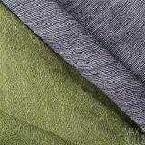 100% Tissu en laine pour automne avec Handfeel spécial en gris