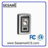 Controlador de acesso de impressão digital de metal com leitor de cartão (SF007)