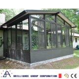 Modieus Aluminium Sunroom met Zwarte Kleur