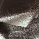 Hw-635を作る家具のソファーのためのLychee大きく深いMicrofiberの革
