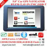 Novo 5.0inch Capacitive Tablet PCS com Android 6.0 Car Dash GPS Navigator, WiFi; Navegação GPS; AV-in para câmera de estacionamento traseira; Google GPS Map G-5040