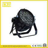 Stage Light 18 * 12W étanche LED PAR Light