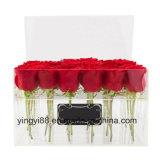 Изготовленный на заказ коробка Rose пластическая масса на основе акриловых смол с крышкой
