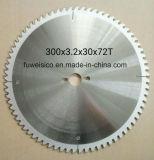 el carburo circular del Tct de 300X3.2X32 X72t vio la lámina para el corte de madera