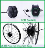 Motor sin cepillo del eje de la bici eléctrica delantera de Jb-92q 350W 48V