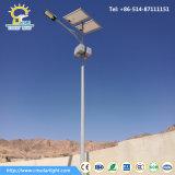 Luz de Rua Solar do Diodo Emissor de Luz 60W do Preço Barato 8m com Painel Solar