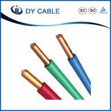 450/750 fil isolé par PVC à un noyau de Chambre de conducteur en aluminium de V
