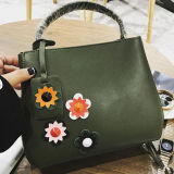 Form-frische Blumen-Muster-Dame-Schulter-Beutel-Freizeit-Handtasche Sy8126