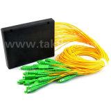 FTTH Gpon Epon Mini/ABS/Cassette/Rackmount 2/4/8/16/32 Optische PLC van de Vezel Splitser