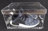 Изготовленный на заказ ясная акриловая гигантская коробка ботинка