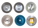 갈기를 위한 Gushi 터보 컵 바퀴 다이아몬드 공구