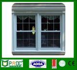 Aluminium gehangenes Fenster mit USA-Befestigungsteilen Pnocshw0008 aussondern