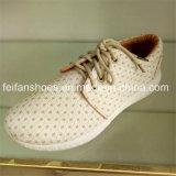 Zapatos de lona clásicos de la inyección de los hombres con los colores de Bolid (FFZL1031-05)