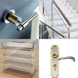 Aluminio de PVD/barandilla de la escalera/máquina de acero de la vacuometalización de la barandilla