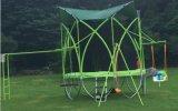 Trampoline ativo do salto elevado do jogo com rede de segurança do Trampoline para a venda