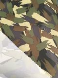 300d tejido de poliéster Oxford reciclado con tela impermeable de impresión