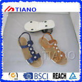 sandal (TNK50036) 새로운 매력 묵 PVC 숙녀의