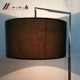 Lámpara de suelo redonda moderna de la cortina de la dimensión de una variable irregular para la sala de estar