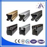 Sin marco de aluminio de extrusión de muebles Perfil