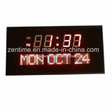 Horloge de mur de DEL Digital pour la décoration à la maison et extérieur