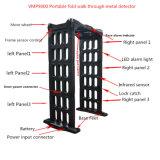 Detector de metales plegable portable estándar impermeable de la manera del arco de la pantalla táctil IP67