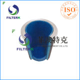 가스 터빈 환기구 필터를 위한 Filterk P190848 원통 모양 F9 HEPA 공기 정화 장치