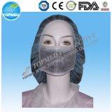 Earloop non tessuto a gettare maschera di protezione medica del coperchio della bocca delle 3 pieghe