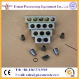 12.7mm and 15.24mm PC Strand Cables Prestressed Anchor for Post Tesnioning Concrete Slab
