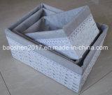 Rectángulo de papel de la cuerda