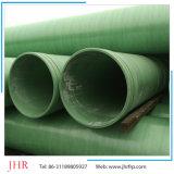 Tubo de agua de lluvia largo tubo reforzado de fibra de vidrio.