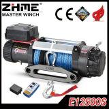 12500lbs malacate eléctrico de alta calidad con 12V/24V DC Motor