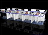 Handelsmesse-Ausstellung-Stand-Zubehör-roher Aluminiumstrangpresßling-Standplatz